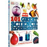 英文原版 101 Great Science Experiments 伟大的科学实验 儿童趣味科普认知图画书 DK百科
