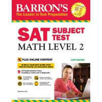 Barron's SAT Subject Test: Math Level 2, 13th Edition: With