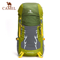 camel骆驼户外双肩背包 男女通用款 户外休闲徒步野营折叠背包