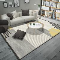地毯客厅卧室满铺床边毯茶几地毯垫简约现代风长方形欧式ins