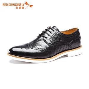 红蜻蜓男鞋商务皮鞋正装鞋子男WZA6323