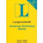 【预订】Langenscheidt Universal Dictionary: Italian