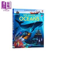 【中商原版】See Inside Oceans看里面:海洋 儿童海洋知识科普绘本 精装 英文原版 9-12岁