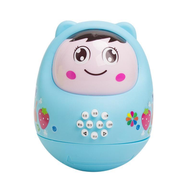 婴儿不倒翁早教故事机婴幼儿音乐播放器带灯光0-3岁新生宝宝玩具
