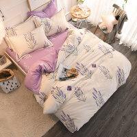 棉冬季磨毛保暖四件套加厚双人1.5米1.8m床单床品套件k