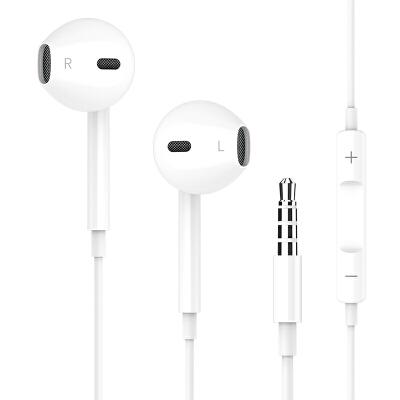 耳机入耳式原装正品适用iPhone苹果6华为vivox9小米oppor15安卓手机r17有线type-c高音质通用运动耳塞