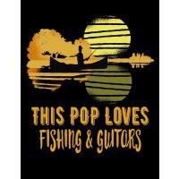 【预订】This POP Loves Fishing and Guitars: Notebook for Pop, 8-