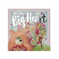 Little Ted's Big Heart 小泰迪的大爱心 温馨故事绘本友情 原版