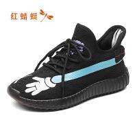 红蜻蜓女鞋秋冬休闲鞋板鞋女鞋子WTQ80101