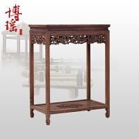 中式花架木盆景架 实木花几花盆架子方形置物架鱼缸架