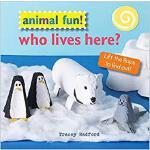 【预订】Animal Fun! Who Lives Here?: Lift the Flaps to Find Out