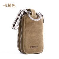车钥匙包 男士多功能真皮大容量家用锁匙包汽车匙钥包通用钥匙套