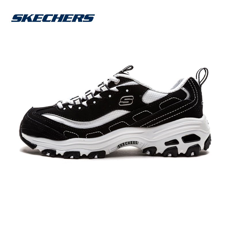 Skechers斯凯奇情侣鞋男女同款黑白熊猫鞋运动鞋休闲鞋 99999720 尺码偏大;请参照内长或询问客服