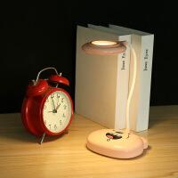 LED创意充电触摸三挡调光学生学习护眼台灯软管折叠宿舍阅读台灯