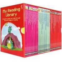 【首页抢券300-100】Usborne My Reading Library 我的第二个图书馆50册 桥梁书 英文阅读