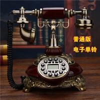 美式仿古电话机座机欧式电话机家用无线插卡固定办公古董复古电话抖音