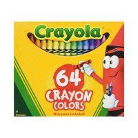 保税区发货 Crayola 绘儿乐64色标准普通蜡笔 3周岁以上 海外购