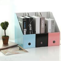 文件袋架栏 办公书本桌面收纳文件盒 办公相册文件夹 整理置物架书立框