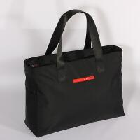 短途旅行包手提行李包女健身包出行手提袋轻便旅行袋大容量手提男 黑色