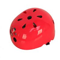 儿童轮滑头盔 宝宝溜冰滑板自行车头盔 小孩安全帽 透气轻便夏季