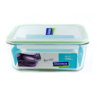 GLASSLOCK 三光云彩韩国进口 钢化玻璃扣 保鲜盒 便当盒 可微波加热RP517