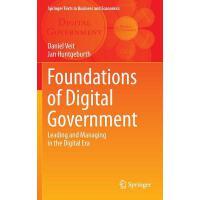【预订】Foundations of Digital Government Leading and Managing