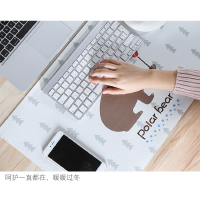 电脑桌办公保暖桌垫超大号韩国加热多功能暖手鼠标垫发热电热创意