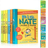 英文原版 Big Nate Laugh-O-Rama/Boredom Buster 捣蛋王大奈特6本套装漫画初阶章节书