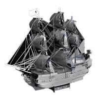 3D立体全金属拼图模型l黑珍海盗船拼装玩具模型拼图