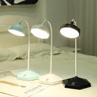 小台灯护眼USB充电式大学生书桌学习宿舍儿童折叠触摸调光