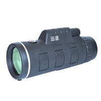 可拍照录像手机单筒望远镜 高倍高清夜视军事用演唱会望眼镜