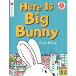 英文原版 Here Is Big Bunny 儿童亲子英语启蒙绘本图画书 I Like to Read Level A