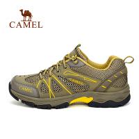 camel骆驼户外徒步鞋 春夏男女吸汗轻便透气徒步鞋