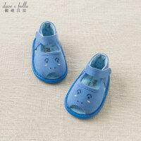 [2件3折价:48.9]davebella戴维贝拉夏装新款婴儿单鞋男宝宝步前鞋DBH10788