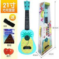 尤克里里初学者儿童小吉他玩具琴可弹奏女孩男孩音乐入门乐器c