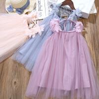 女童连衣裙夏装儿童吊带公主裙女孩背心裙子