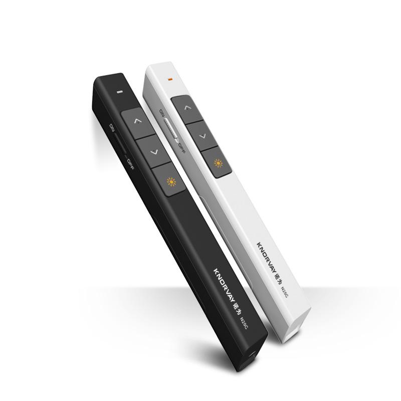 诺为N26 PPT翻页笔PPT遥控笔电子笔投影笔教鞭无线ppt翻页遥控笔升级配置 带开关 黑屏全屏
