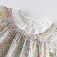 davebella戴维贝拉2020夏季新款女童套装宝宝洋气两件套DBZ14155