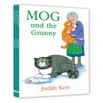 Mog three titles collection #2(Mog and the Granny,Mog and the V.E.T.,Mog's Christmas) 小猫格格三本故事套装#2(小猫格格的奶奶,小猫格格与兽医,小猫格格的圣诞节)