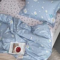 北欧ins学生宿舍单人三件套床单四件套棉被套双人床上用品
