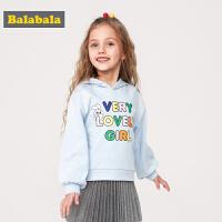 巴拉巴拉童装女童卫衣2019新款春季小童宝宝韩版套头衫儿童上衣女