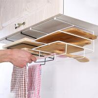 铁艺壁挂菜板架免打孔厨房无痕砧板架收纳置物架挂式菜板架