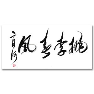 中国优秀作家 二月河《桃李春风》DW171