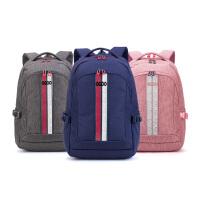 【2件5折】卡拉羊休闲双肩包大容量中学生书包运动休闲包旅行背包简约电脑包CX5988
