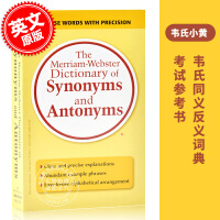 �F� �f氏同�x�~反�x�~典 �f小�S 英文原版 Merriam-Webster Dictionary of Synonyms