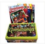 鸡皮疙瘩英文原版 系列丛书 5本铁盒套装Goosebumps Retro Scream Collection: Lim