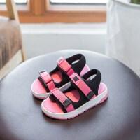 儿童凉鞋 运动橡胶底沙滩鞋 男童女童中大童休闲鞋