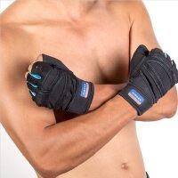 健身手套男士女健身房半指运动手套锻练哑铃举重护腕防滑