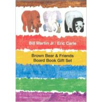 现货 英文原版Brown Bear Friends*和朋友 纸板绘本套装礼盒