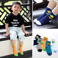 儿童袜子1-3-7-9岁秋冬男孩男童小学生吸汗防臭宝宝棉袜